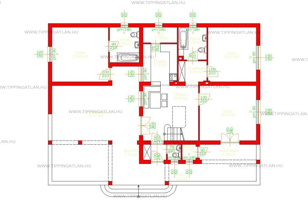 Eladó 271 m2 ház - Abádszalók