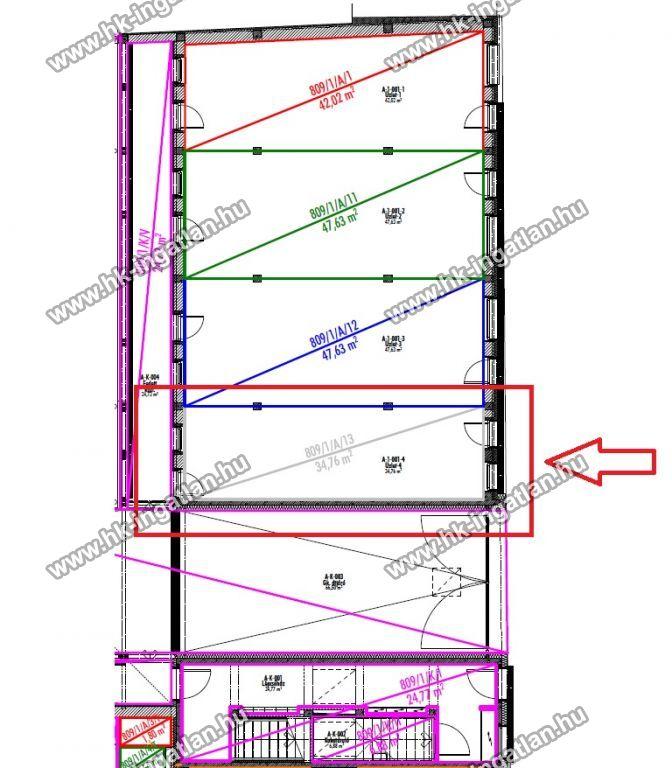 Eladó 34.7 m2 iroda / üzlethelyiség - Aszód