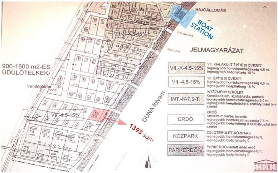 Eladó 1393 m2 telek - Budakalász