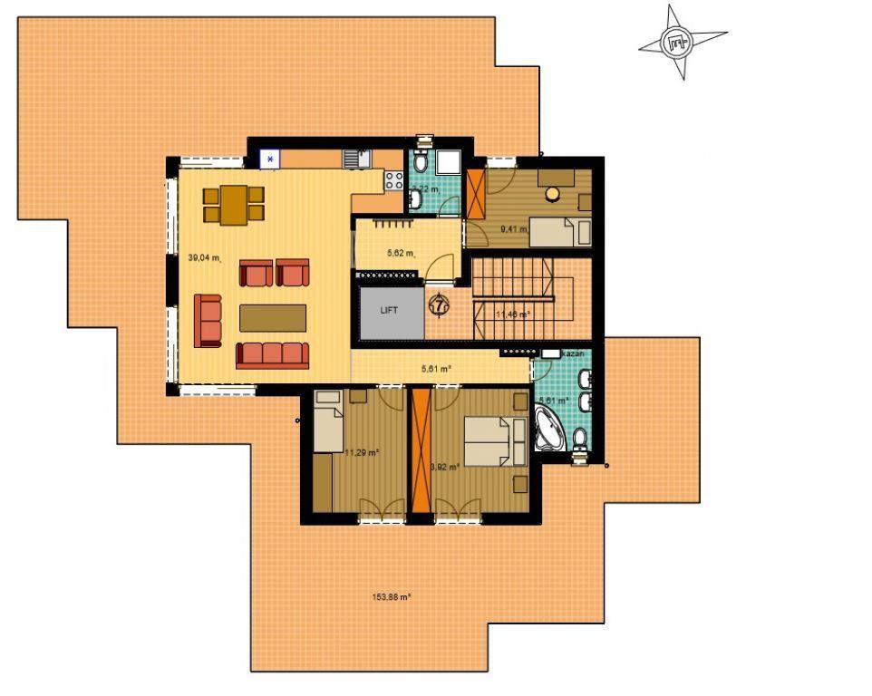 Eladó 97 m2 lakás - Budapest II.