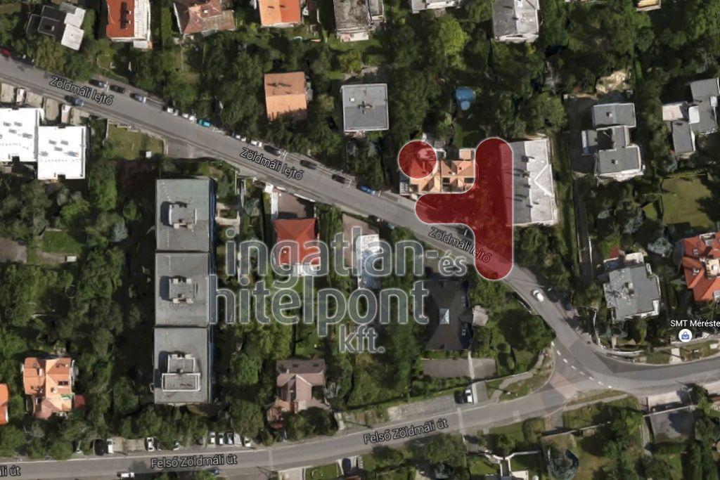 Eladó 986 m2 telek - Budapest II.