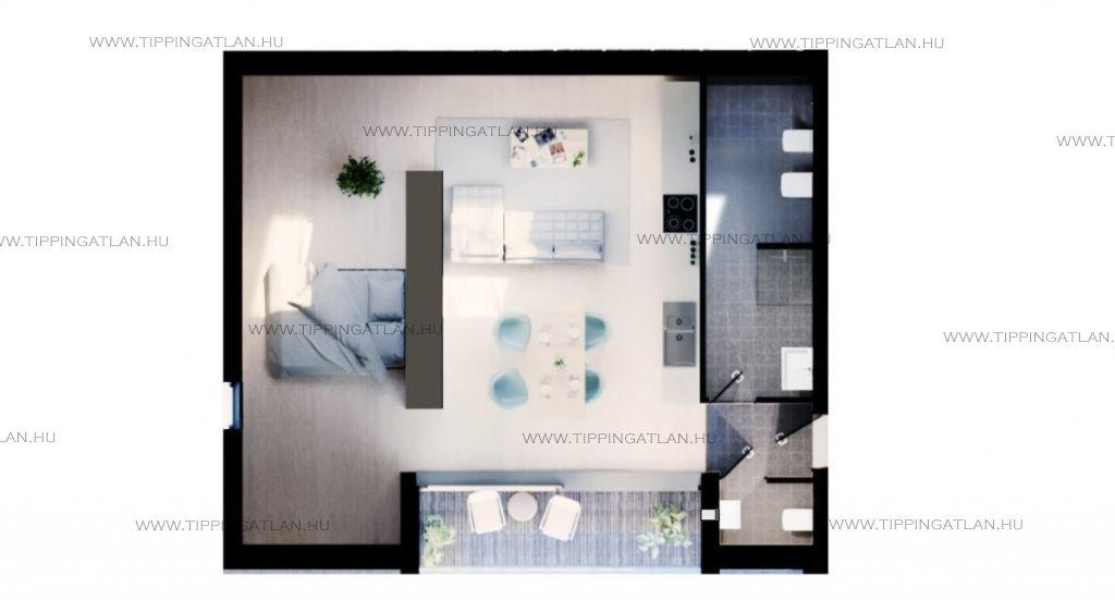 Eladó 66.14 m2 lakás - Budapest III.