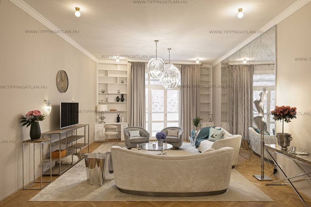 Eladó 141 m2 lakás - Budapest V.