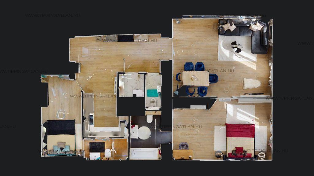 Eladó 78 m2 lakás - Budapest VII.