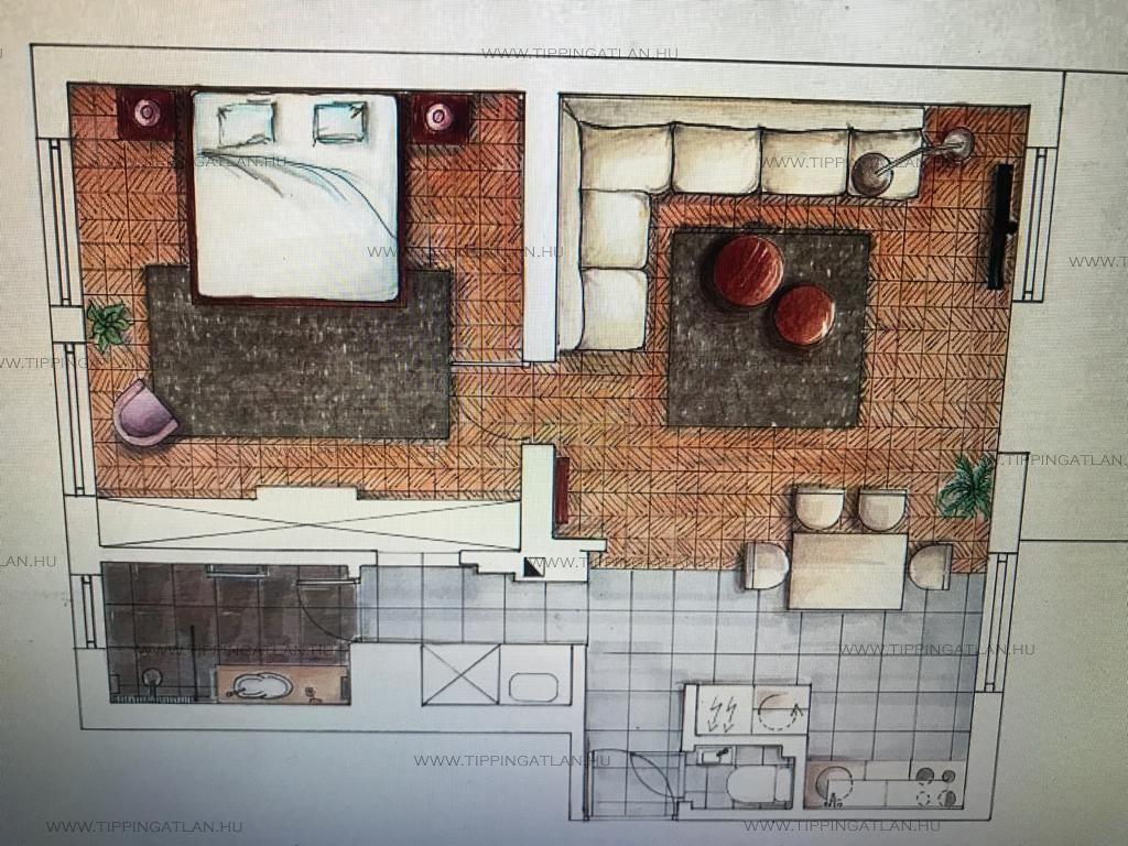Eladó 60 m2 lakás - Budapest XII.