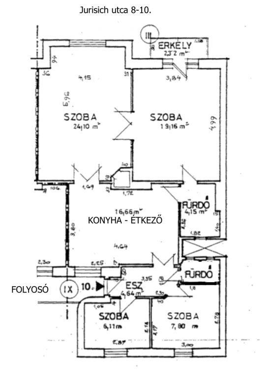 Eladó 85 m2 lakás - Budapest XIV.