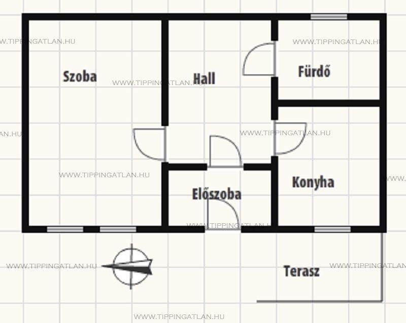 Eladó 37 m2 lakás - Budapest XV.