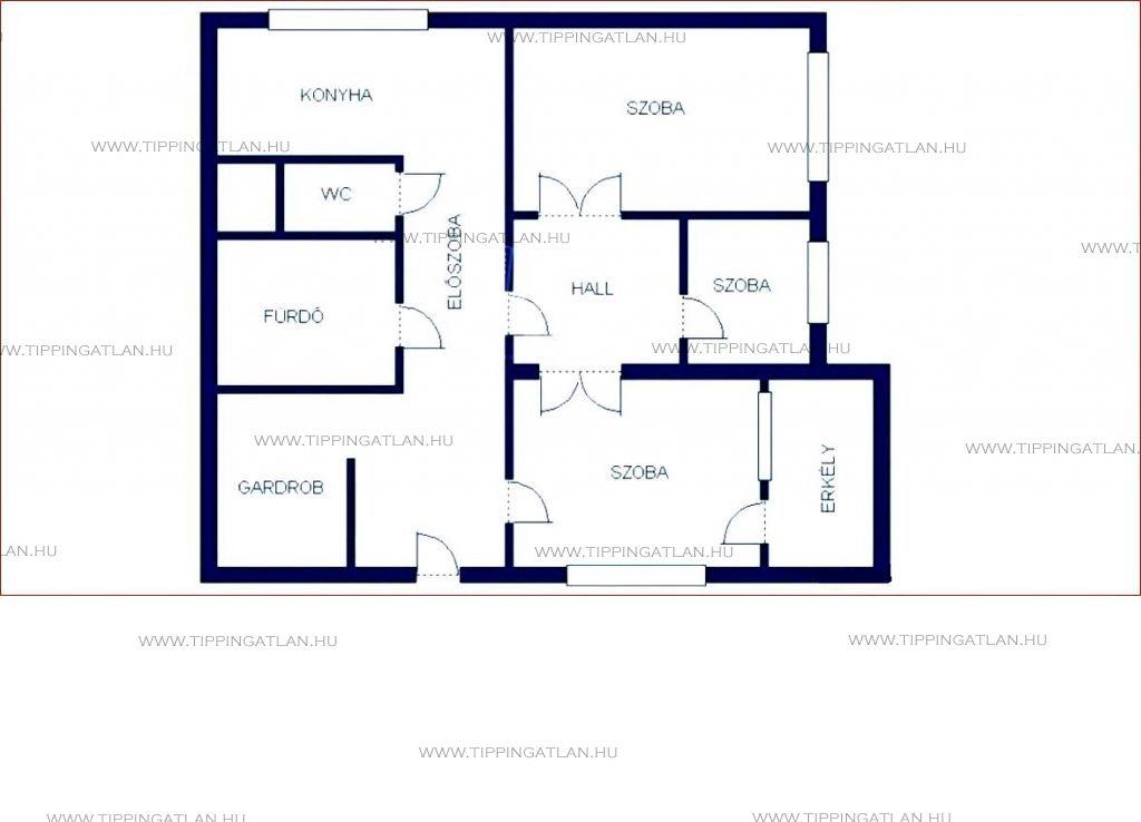 Eladó 71 m2 lakás - Budapest XVIII.