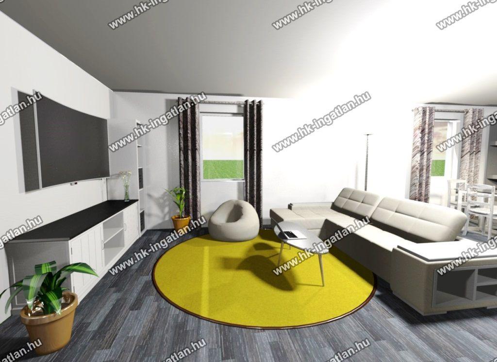 Eladó 110 m2 ház - Erdőkertes