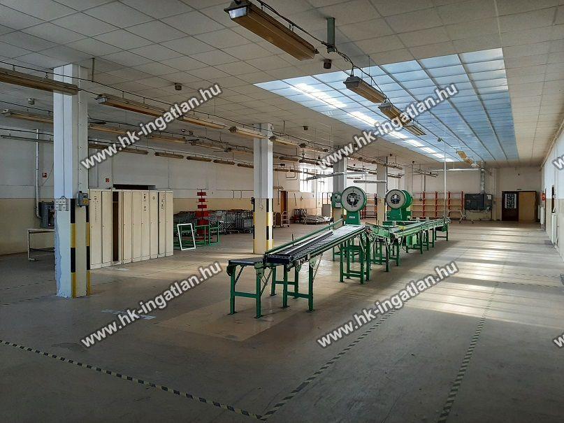 Kiadó 800 m2 ipari ingatlan - Budapest XIII.